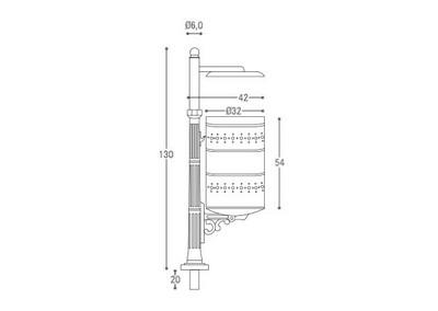Cestino CS 019 (disegno)