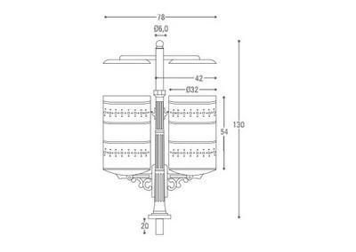 Cestino CS 020 (disegno)