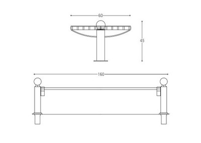 Panchina PN 043 (disegno)