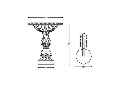 Fontana f007 irollo arredo urbano illuminazione for Alfredo irollo arredo urbano e illuminazione