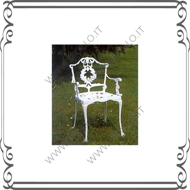 Sedie In Ghisa Da Giardino Prezzi.Sedia In Fusione Di Ghisa Sdg003 Irollo Arredo Urbano