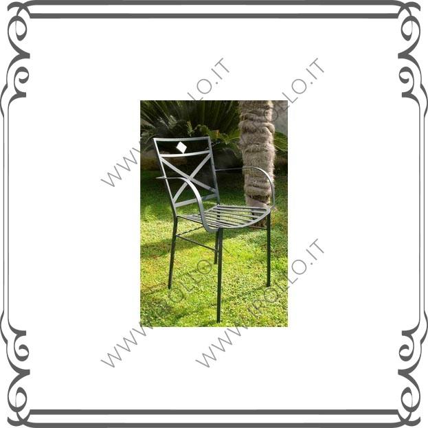 Sedia in ferro battuto SDF023