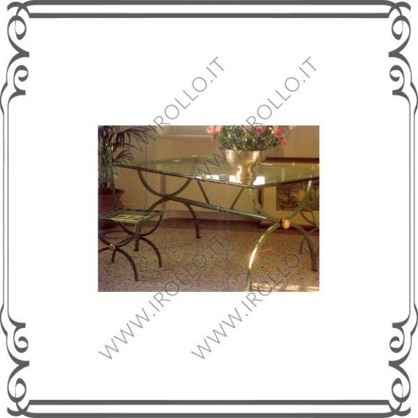 Base per tavolo in ferro TVF005