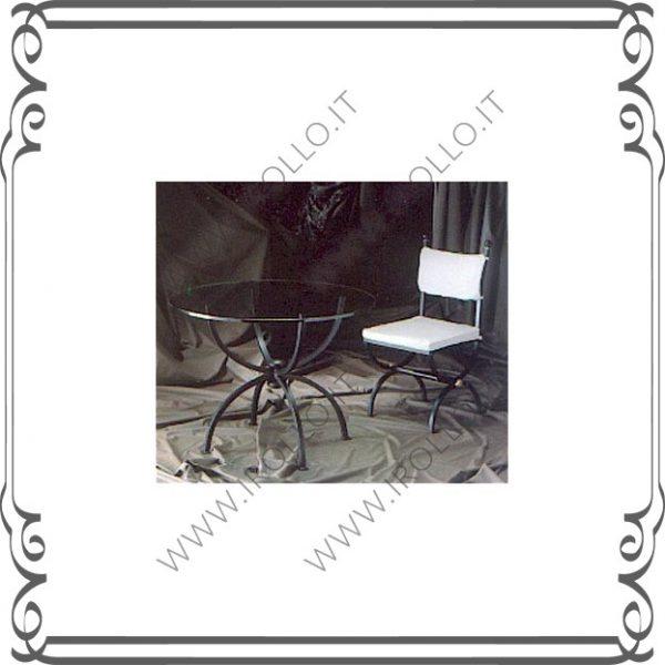 Base per tavolo in ferro TVF011
