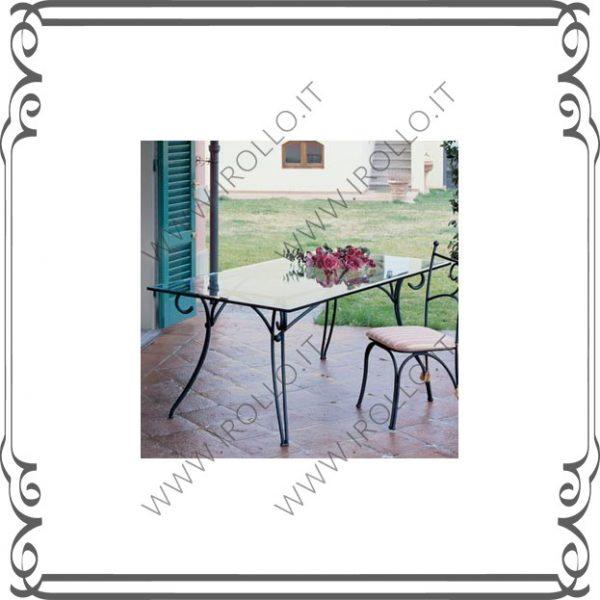Base per tavolo in ferro TVF015
